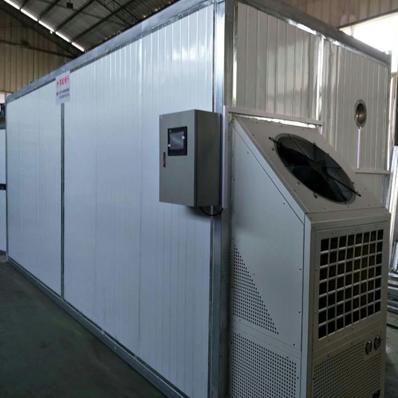 农产品空气能热泵烘干机烘干步骤介绍